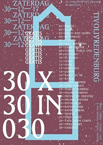 30 × 30 in 030 (flyer)