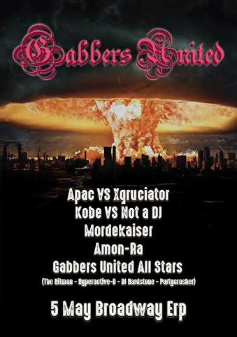 Gabbers United (flyer)