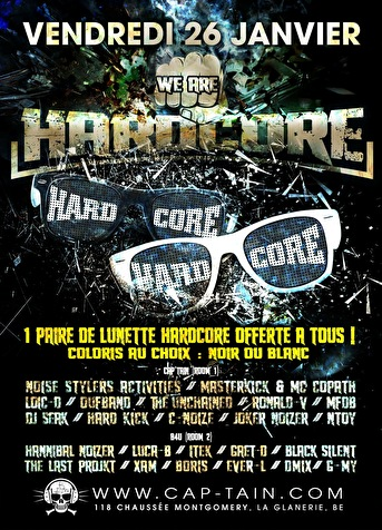 We Are Hardcore (flyer)