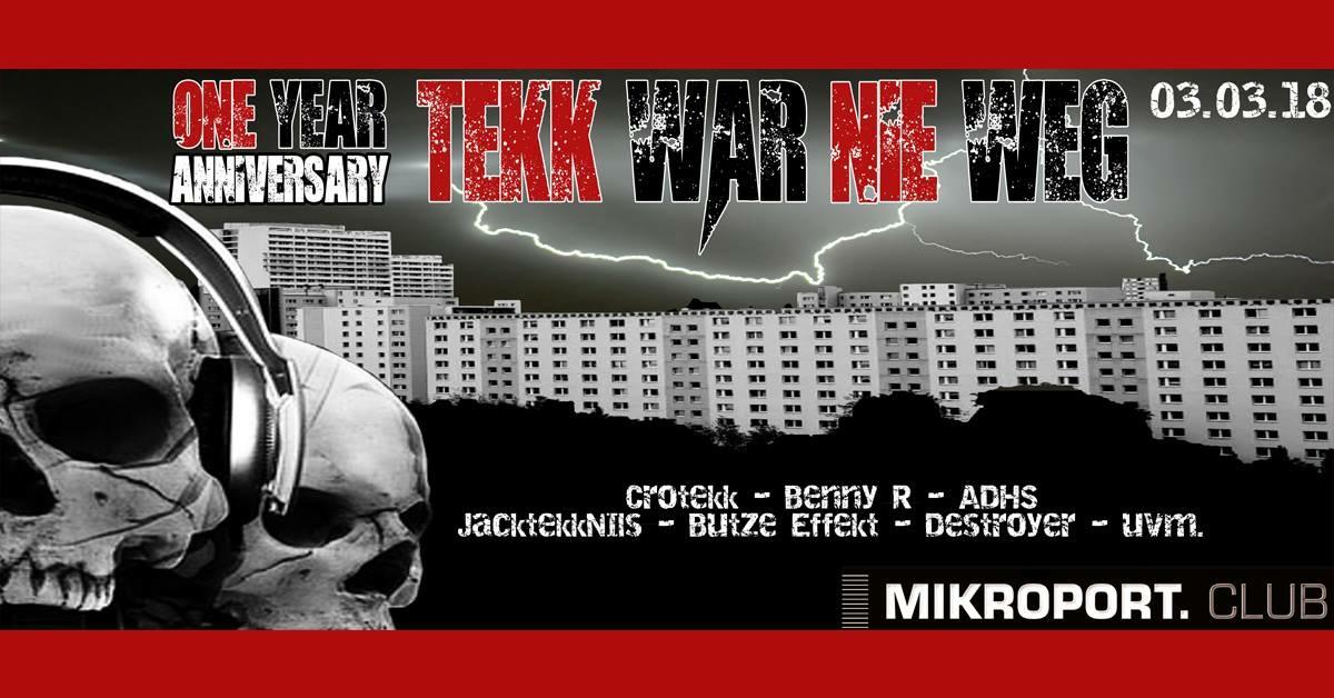 1 Jahr Tekk War Nie Weg vs Code Red · 3 March 2018, Mikroport.club ...