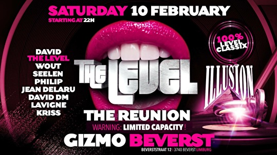 The Level Reunion (flyer)