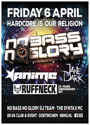 flyer No Bass No Glory