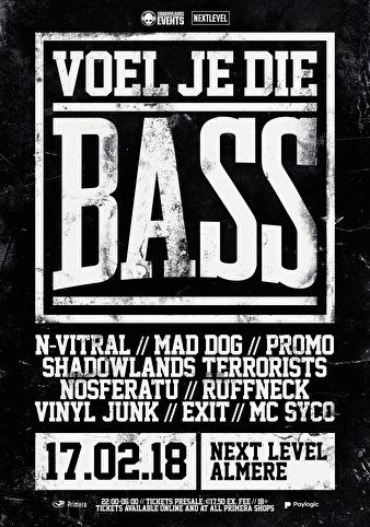 Voel Je Die Bass (flyer)