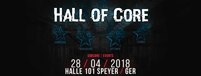Hall Of Core (flyer)