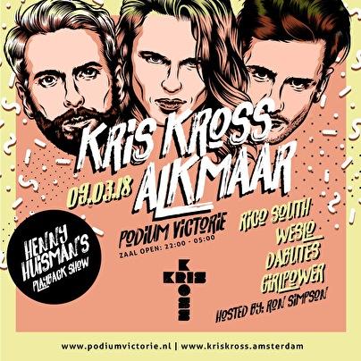 Kris Kross door het land (flyer)