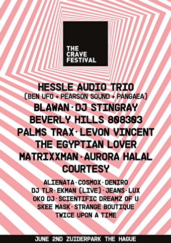 flyer The Crave Festival