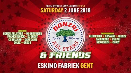 Bonzai All Stars & Friends (flyer)