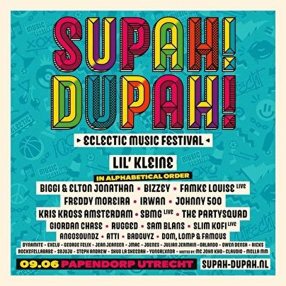 Supah Dupah (flyer)