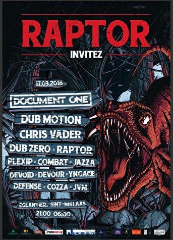 Raptor Invitez (flyer)