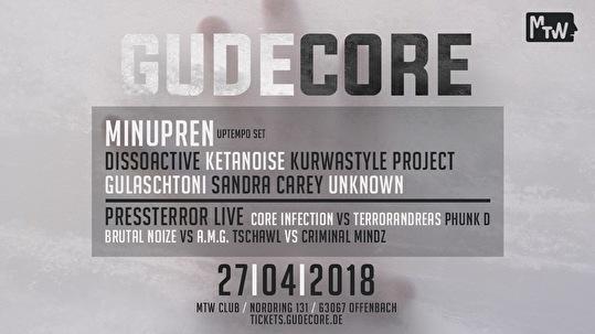 1 Jahr GudeCore (flyer)