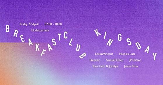 Breakfast Club Kingsday (flyer)