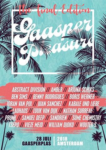 Gaasper Pleasure (flyer)