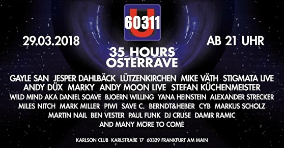 35 Hours Osterrave (flyer)
