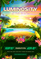Luminosity At The Beach (flyer)