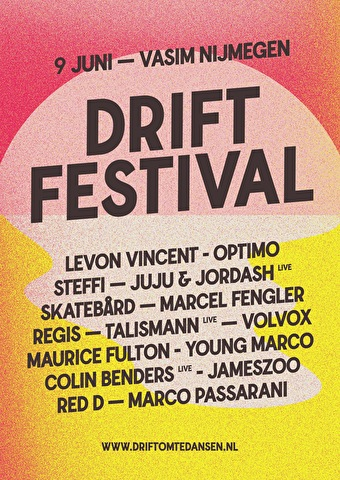 Drift Festival (flyer)