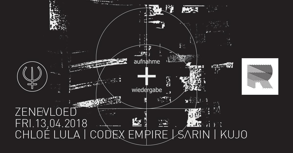 Zenevloed invites Aufnahme+Wirgabe · 13 April 2018, RADION ...