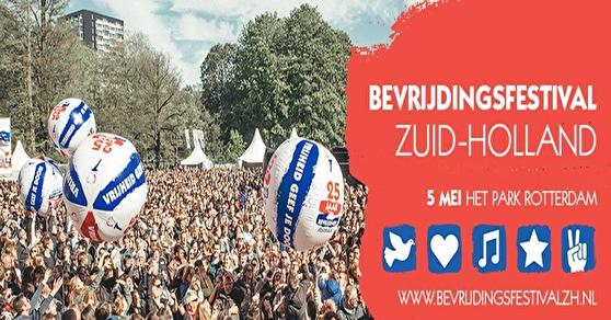 Bevrijdingsfestival Zuid-Holland (flyer)