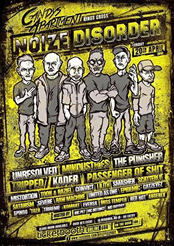 Noize Disorder (flyer)