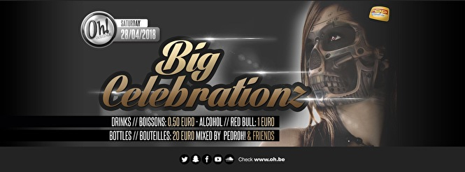 Big Celebrationz + Birthdayz (flyer)