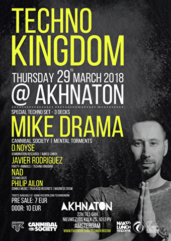 Techno Kingdom (flyer)