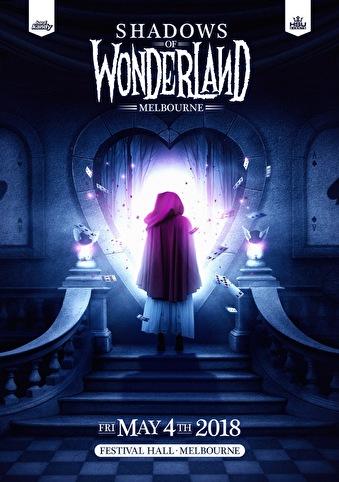 Shadows of Wonderland (flyer)
