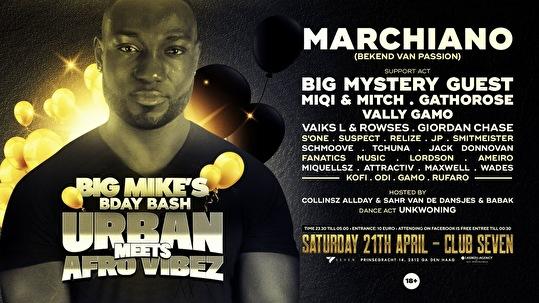 Urban meets Afro Vibez (flyer)