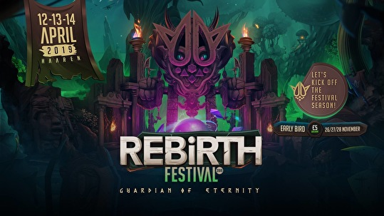 REBiRTH Festival (flyer)