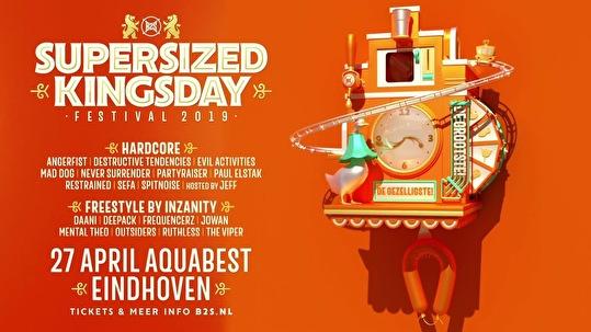 Supersized Kingsday Festival (flyer)