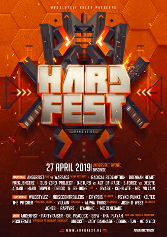 HARDFEST (flyer)