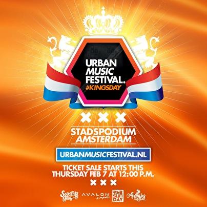 Urban Music Festival (flyer)