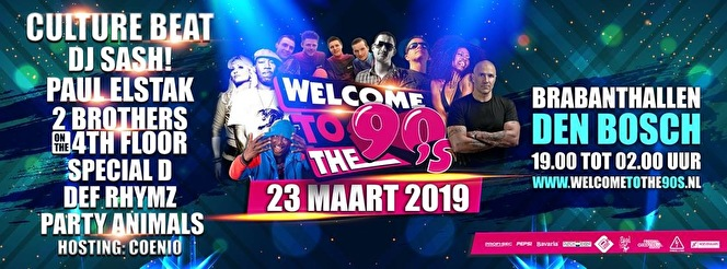 Welcome to the 90's (flyer)
