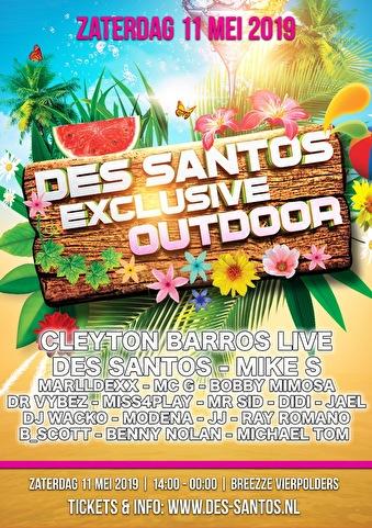 Des Santos Exclusive Outdoor (flyer)