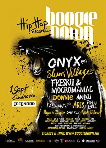 Boogiedown Festival (flyer)