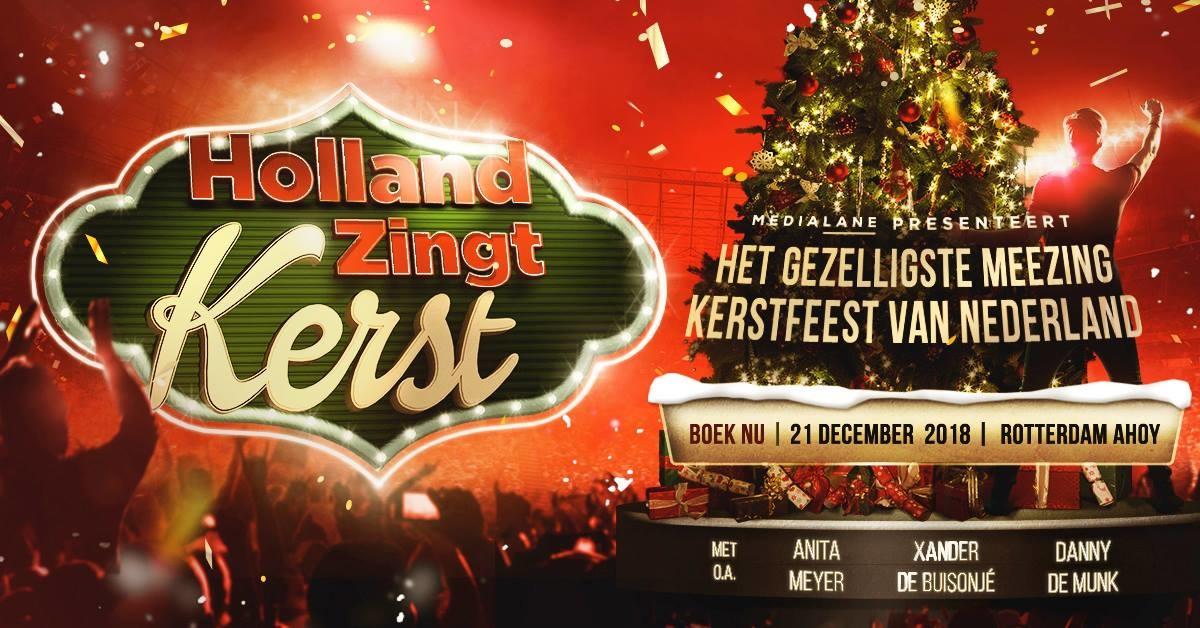 kerst 2018 rotterdam Holland Zingt Kerst · 21 december 2018, Ahoy, Rotterdam · evenement kerst 2018 rotterdam