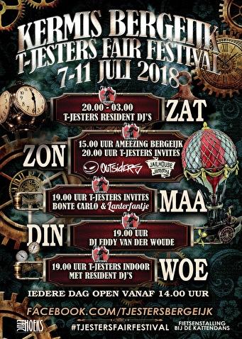 T-Jesters Fair Festival (flyer)