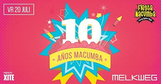 flyer Fiesta Macumba