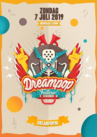 Dreampop Festival (flyer)