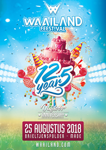 Waailand Feestival Outdoor (flyer)