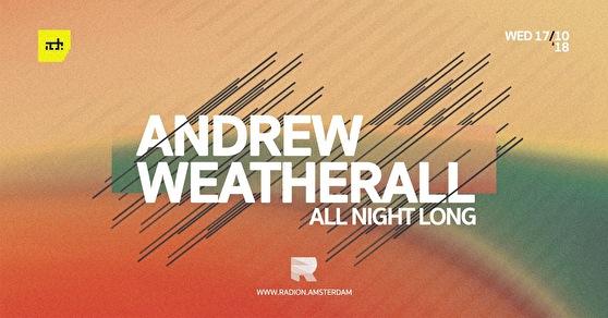 Andrew Weatherall (flyer)