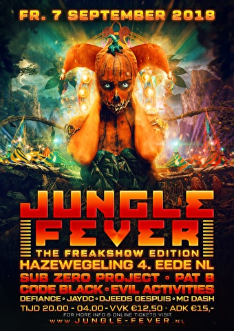 Jungle Fever (flyer)