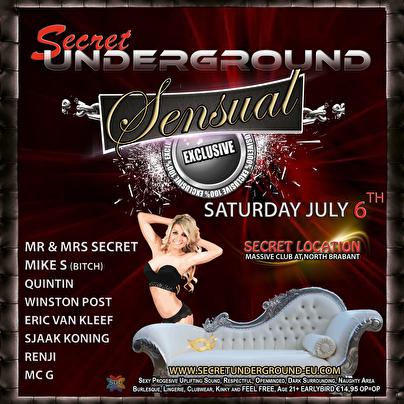 Sensual Exclusive (flyer)