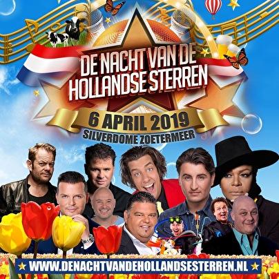 De Nacht van De Hollandse Sterren (flyer)