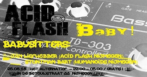 Acid Flash Baby (flyer)
