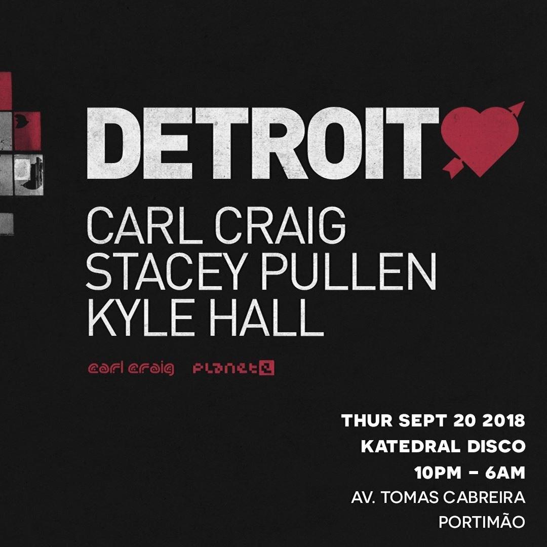 BPM · Detroit Love · 20 Septembre 2018, Katedral Disco