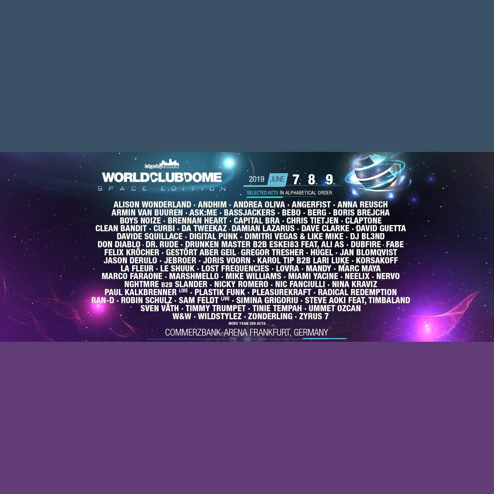 World Club Dome 8 June 2019 Commerzbank Arena Frankfurt Am Main