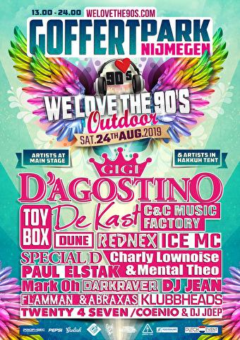 We love the 90's Festival (flyer)