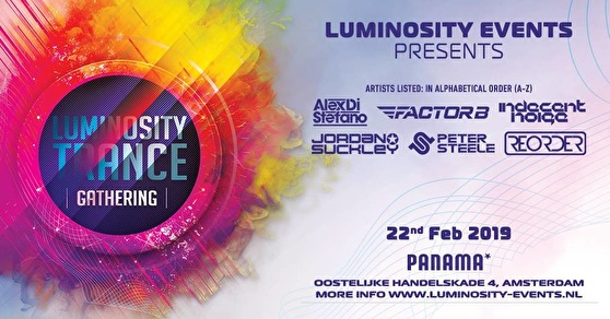 Luminosity Trance Gathering (flyer)