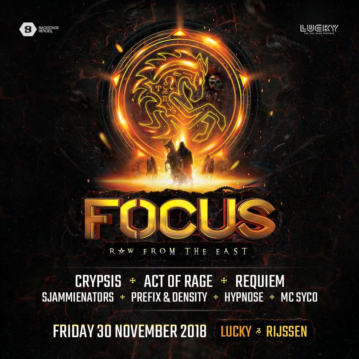 East Orange Focus >> Focus Tickets Line Up Timetable Info