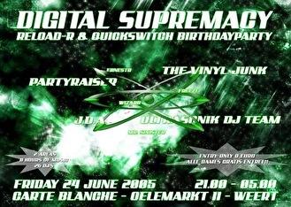 Digital Supremacy 2005 (flyer)