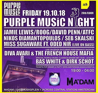 Purple Music Night (flyer)